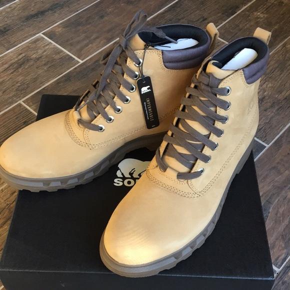 6a5ba54792b Sorel Portzman Lace Boots NWT